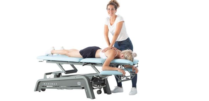Hier sehen Sie das Produkt ManuMax Multi 3.5 | 5teilig (ohne Flexion) aus der Kategorie Therapieliegen. Ein Artikel erhältlich bei MTR Equipments.