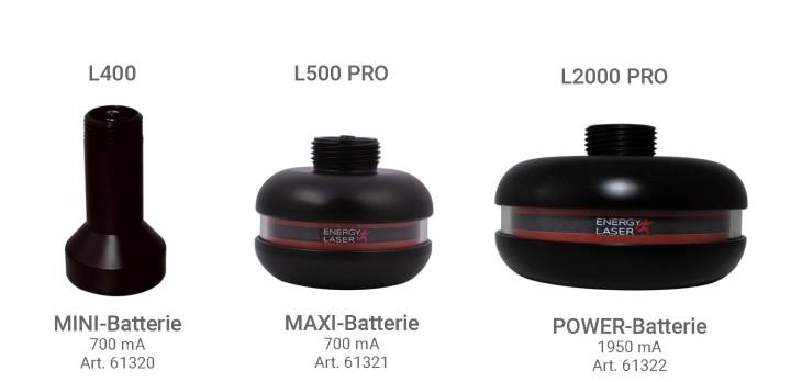 Hier sehen Sie das Produkt Energy Laser Ersatzbatterien. Ein Artikel erhältlich bei MTR Equipments.