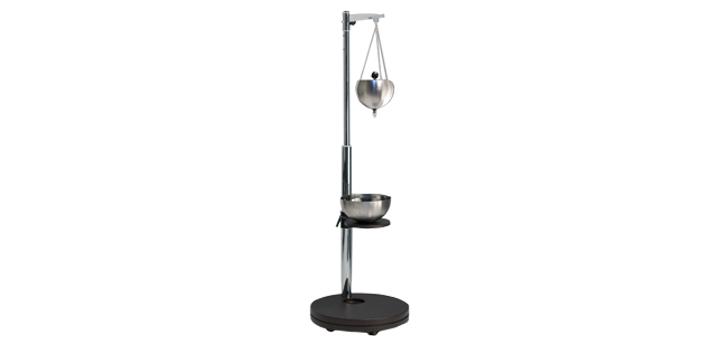 Hier sehen Sie das Produkt Shiro Dhara Wood, chrom aus der Kategorie Wellness-Geräte. Ein Artikel erhältlich bei MTR Equipments.